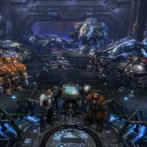 StarCraft 2: Wings of Liberty Hyperion Armory