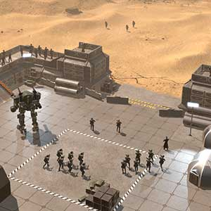 Thousands of enemy attacking the base