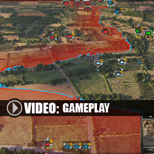 Steel Division Normandy 44 Second Wave - Gameplay Video