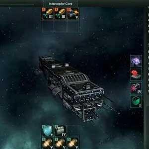 Interceptor space ship