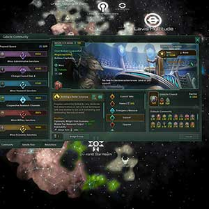 Stellaris Nemesis Galactic Community
