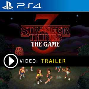 Stranger Things 3 The Game PS4 Prices Digital or Box Edition
