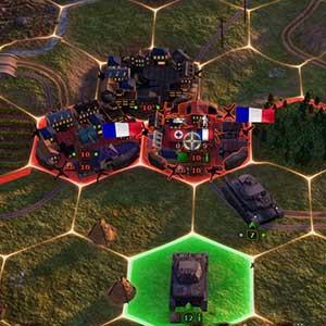 Solid defends tank base
