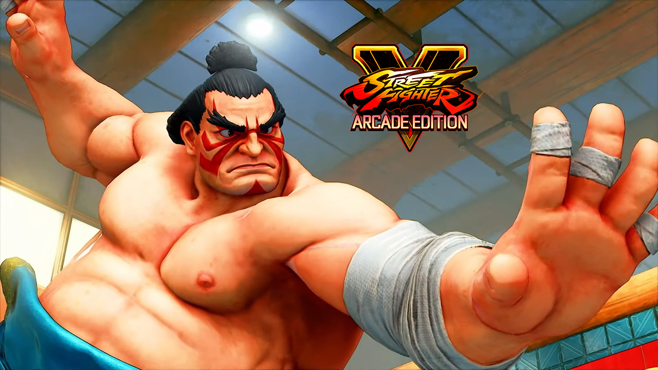 Street Fighter 5 Arcade Edition E. Honda
