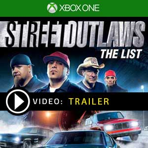 Street Outlaws The List Xbox One Prices Digital or Box Edition