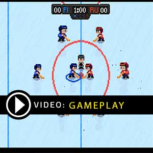 Super Blood Hockey PS4 Gameplay Video