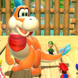 Super Mario 3D World Nintendo Wii U Characters