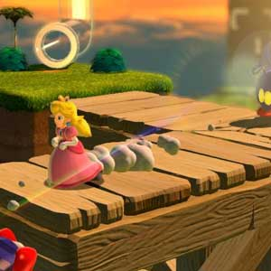 Super Mario 3D World Nintendo Wii U Princess Peach