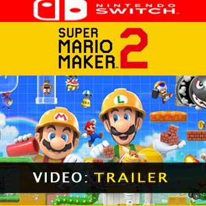 Super Mario Maker 2 trailer video