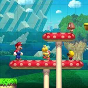 Super Mario Maker Nintendo Wii U Gameplay
