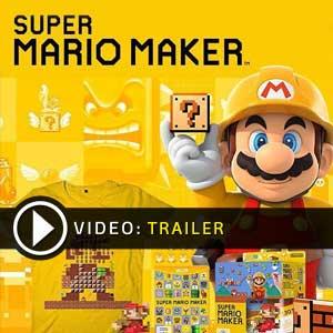 Buy Super Mario Maker Nintendo Wii U CD Key Compare Prices