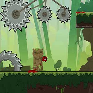 Super Meat Boy Forever Meat Boy