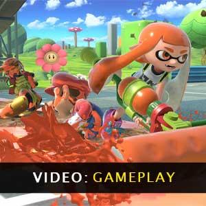 Super Smash Bros Ultimate Nintendo Switch gameplay video