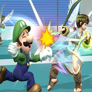 Super Smash Bros Nintendo Wii U Luigi
