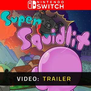 Super Squidlit Nintendo Switch Video Trailer