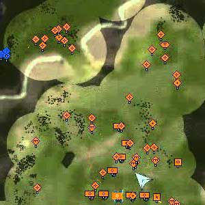 Supreme Commander Forged Alliance - Map