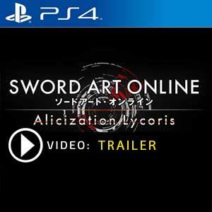 Sword Art Online Alicization Lycoris PS4 Prices Digital or Box Edition