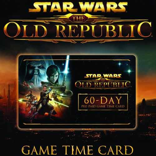Compare and Buy Gamecard Star Wars The Old Republic 60 Days Prepaid Time Card