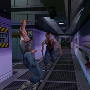 System Shock 2 Fight