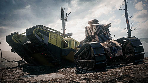 Battlefield 1 Tanks