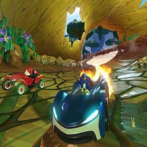 Team Sonic Racing power-ups