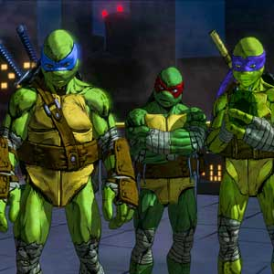 Teenage Mutant Ninja Turtles Mutants in Manhattan The PS4 - Turtle Ninjas