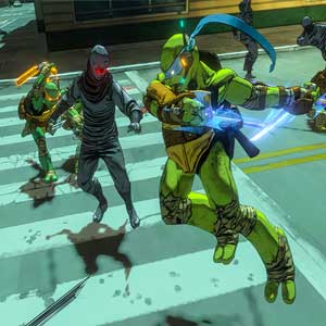 Teenage Mutant Ninja Turtles Mutants in Manhattan Fight
