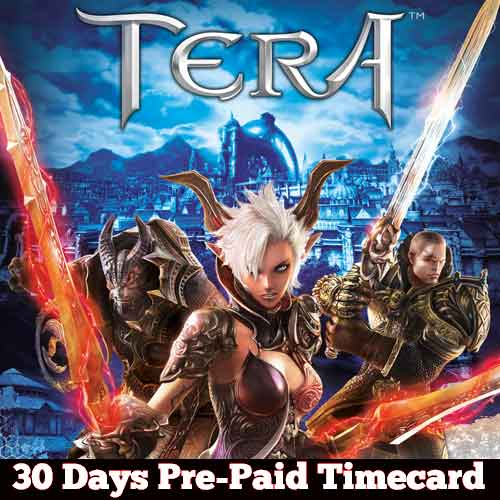 Compare and Buy Gamecard Tera 30 Days Prepaid Time Card