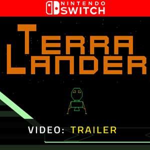 Terra Lander Nintendo Switch Video Trailer