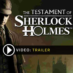 Buy Testament of Sherlock Holmes CD Key Compare Prices