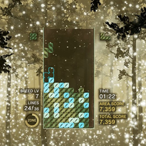 Tetris Effect Connected Forest