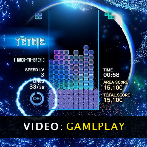 Tetris Effect Connected Gameplay Video