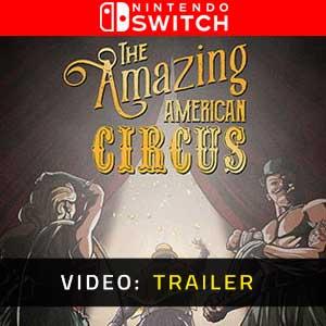 The Amazing American Circus Nintendo Switch Video Trailer