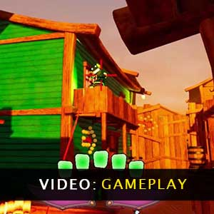 The Copper Canyon Dixie Dash Gameplay Video