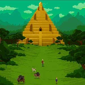 Entering the Pyramid