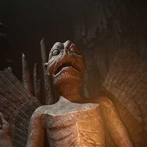 The Dark Pictures House of Ashes Statue