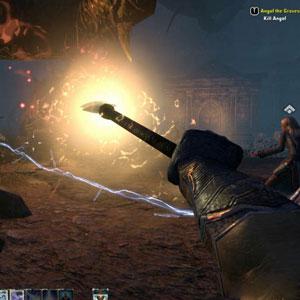 The Elder Scrolls Online Xbox One Battle