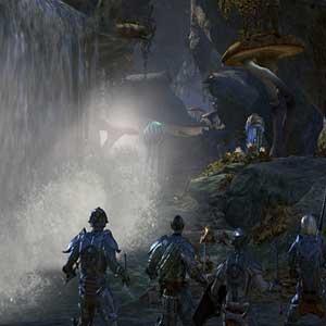 The Elder Scrolls Online Morrowind waterfall