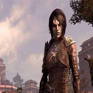 The Elder Scrolls Online Morrowind town