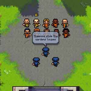 The Escapists: Morning Roll-Call Outdoors