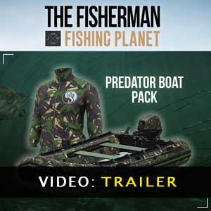 The Fisherman Fishing Planet Predator Boat Pack