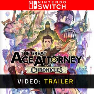 The Great Ace Attorney Chronicles Nintendo Switch Video Trailer
