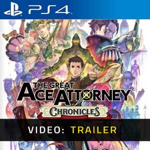 The Great Ace Attorney Chronicles PS4 Video Trailer