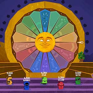 The Jackbox Party Pack 8 The Wheel of Enormous Proportions