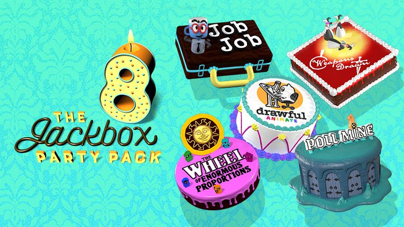 the jackbox party pack 8 cd key compare price