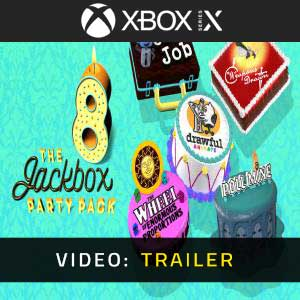 The Jackbox Party Pack 8 Xbox Series X Video Trailer