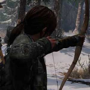 The Last of Us Remastered PS4 arrow