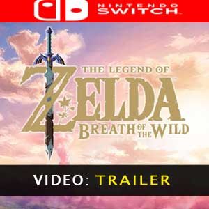 The Legend of Zelda Breath of the Wild Nintendo Switch - Video Trailer