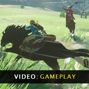 The Legend of Zelda Breath of the Wild - Video Gameplay