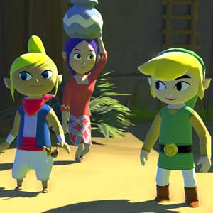 The Legend of Zelda The Wind Waker HD Wii U Characters